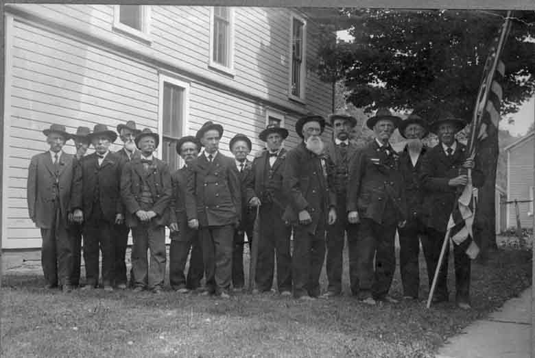 Civil War Soldiers Group