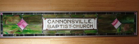 cannonsville baptist church